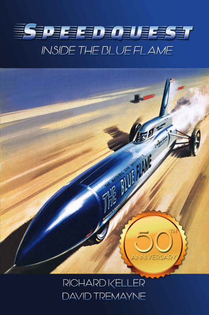 Book cover of Speedquest: Inside the Blue Flame,